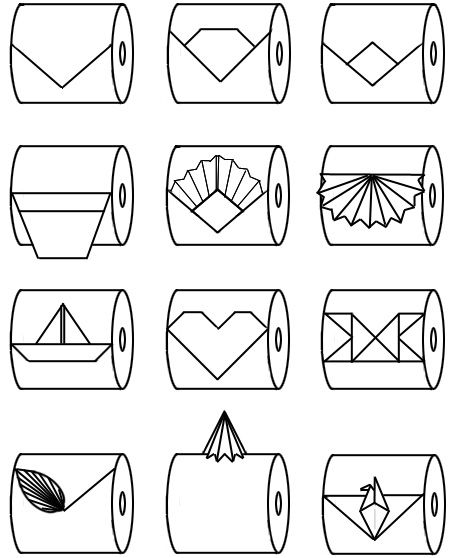 25  best ideas about toilet paper origami on pinterest