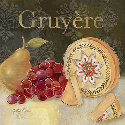 RB6842CC <br> Fromage Francais II <br> 12x12 Cynthia Coulter
