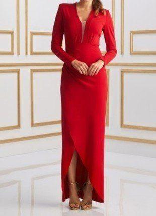 Kup mój przedmiot na #vintedpl http://www.vinted.pl/damska-odziez/sukienki-wieczorowe/16751590-dluga-czerwona-sukienka-sugarfree