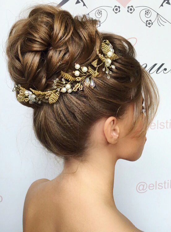 Wedding Hairstyle 20 most romantic bridal updos wedding hairstyles to inspire your big day Elstile Wedding Hairstyles For Long Hair 49