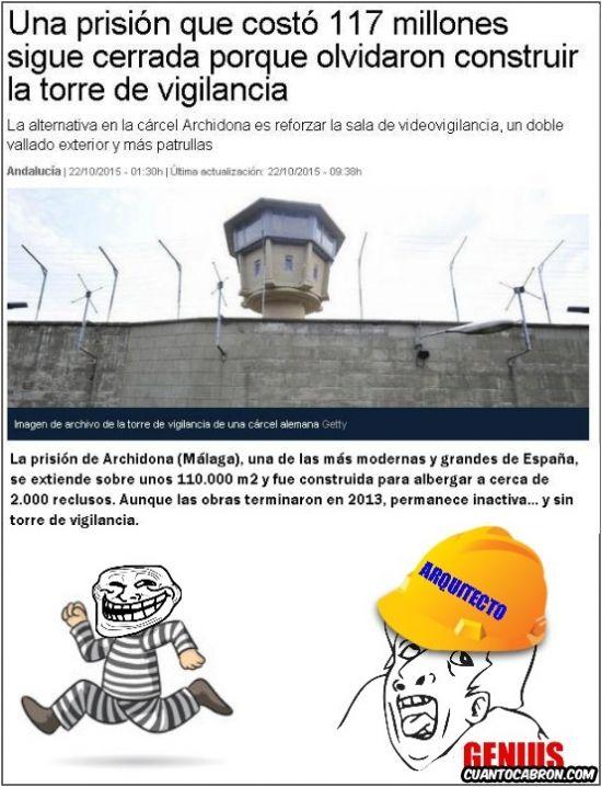 Planificación genius de una prisión        Gracias a http://www.cuantocabron.com/   Si quieres leer la noticia completa visita: http://www.estoy-aburrido.com/planificacion-genius-de-una-prision/