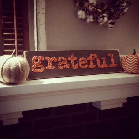Grateful String Art