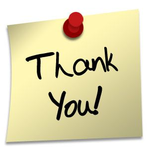 THANK YOU - I want to thank all my contributors.  The board is interesting to look at thanks to all of you.