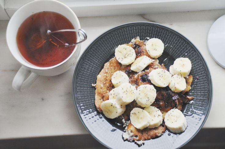 Blog post: Pancakes and tea