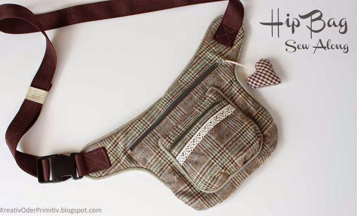 Hip Bag Sew Along by Schnabelina