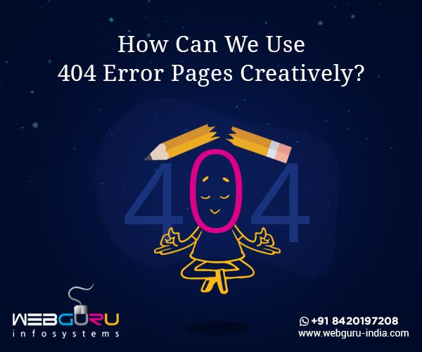 How Can You Turn The 404 Error Pages Interesting Engaging Brand Identity Design Website Design Page Design