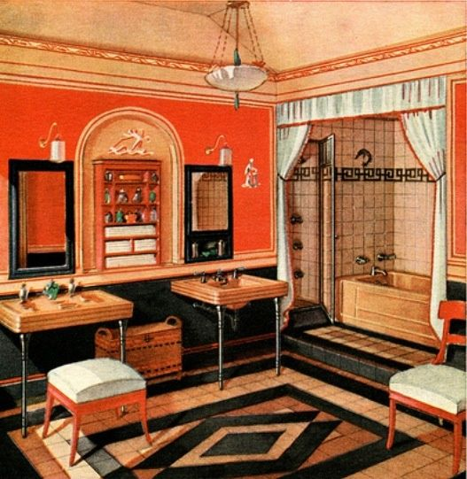 1000 ideas about 1920s interior design on pinterest for 1930s interior decoration