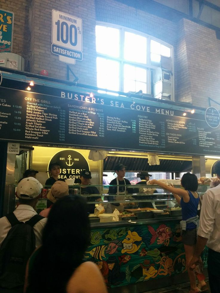 Finally checked this place out at St. Lawrence Market. The food is fresh and delicious. We will return for more. Too bad it closes at 5 pm on Saturdays.