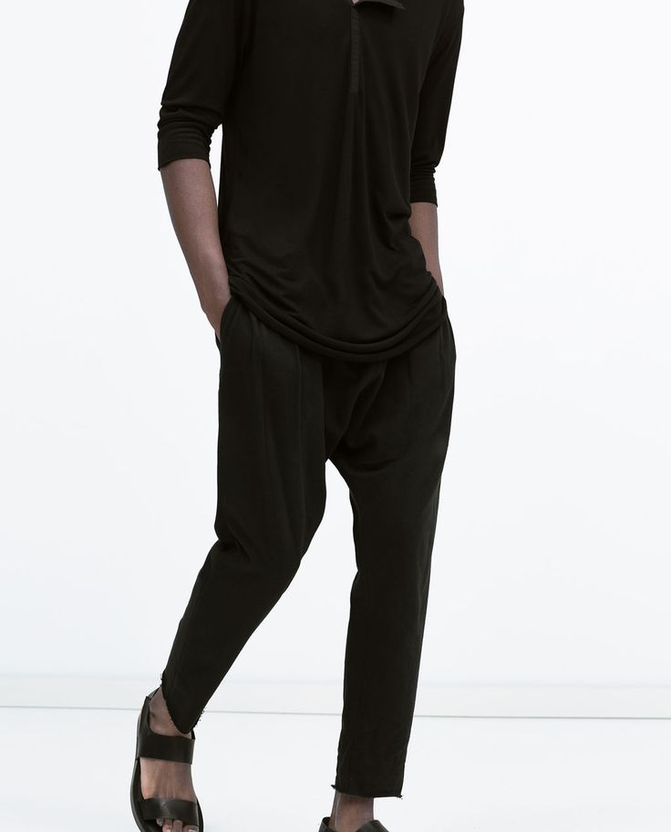 BAGGY TROUSERS-Trousers-MAN-SALE   ZARA United States