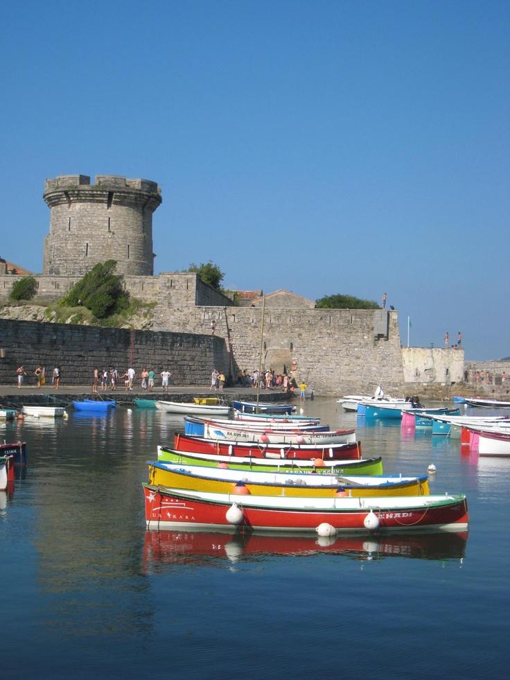Le fort de Socoa à Ciboure (64) près de Siant-Jean-de-Luz