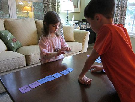 Memory Scavenger Hunt - New Years Activity - No Time For Flash Cards