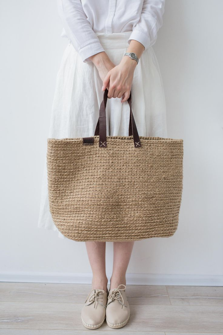 5bffaac01 Large Beach Bag, Crochet Shopping Bag by POLE Homeware | Mother's ...