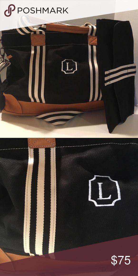 "POTTERY BARN Classic Diaper Bag, black, ""L"" new A new Pottery Barn Classic Diaper Bag, black, ""L"" Pottery Barn Bags Baby Bags"