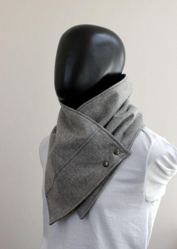 Herren Kappe Schal. Unisex Schal. Männer und von CheriDemeter
