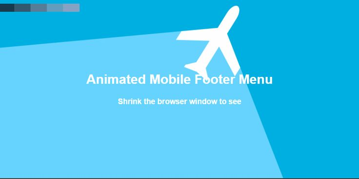 Mobile Only CTA Sticky Footer #WebDesign #CodeMyUI
