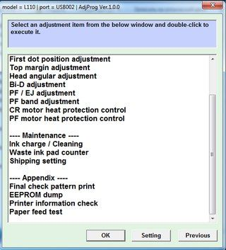 Инструкция Adjustment program AdjProg | RUS Epson | ЕПСОН L100, L200, L800...