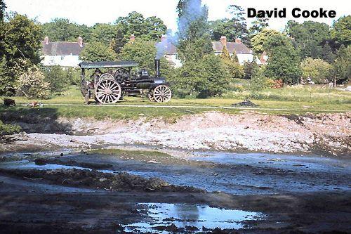 SG0443 Ploughing Engine Dredging a Pond @ Brueton Park, Solihull