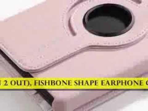 https://www.youtube.com/watch?v=swzIomxYALU Pandamimi ULAK(TM) 360 Degree Rotating PU Leather Case Cover w/ Swivel S...