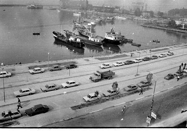 1970ler Kadıköy İskelesi