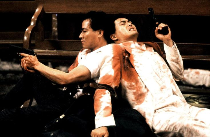 theactioneer:  Danny Lee & Chow Yunfat The Killer (1989)