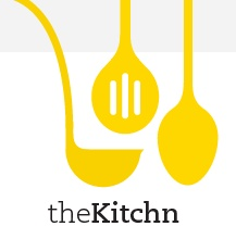 Cute logo for this food blog. Love the graphics and text