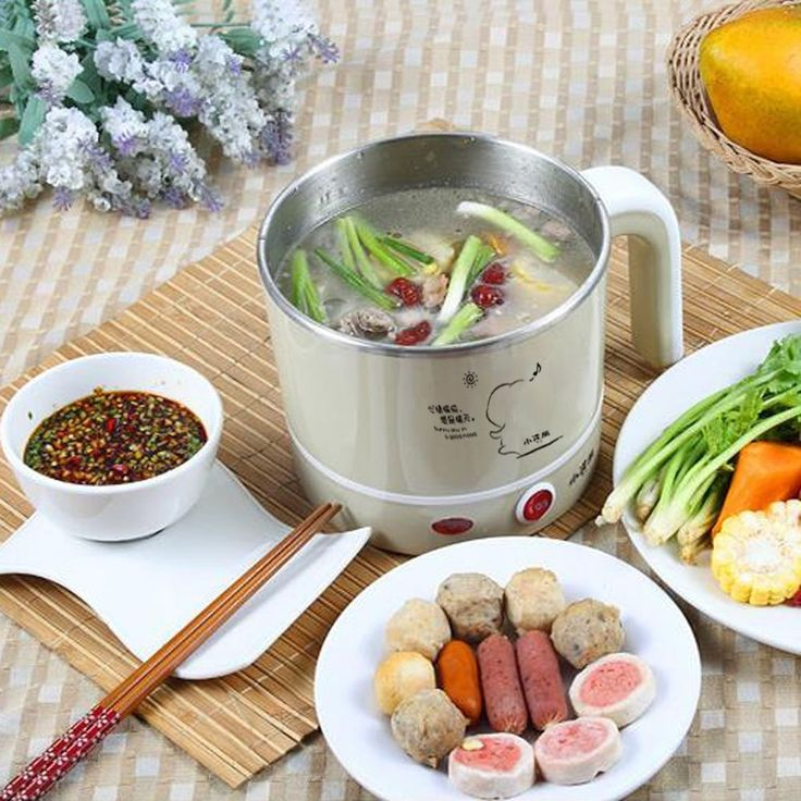 Main functions: cooked, boiled, braised, stewed, steamed, sterilized flatware. 1pc cooker/ steamed egg tray / stainless steel pot / steamed rack / power cord / manual. Main material: food grade stainless steel pot. | eBay!