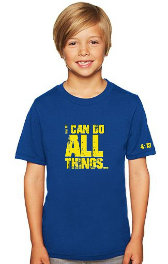 I can do all things shirt 4:13 Stephen by PattyJeanStationery