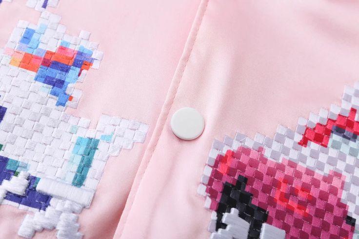 느슨한 데님 재킷 야구 유니폼 여성 조수 바느질 자수 (16) 한국 온라인 쇼핑은 Hitz의 여성 새틴 재킷 - Taobao의 글로벌 역