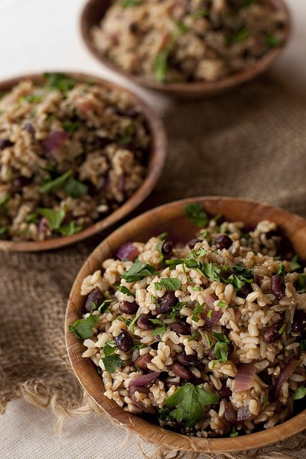 Black Beans/Rice Approx $.40 per svng (using canned beans. less for dry beans)