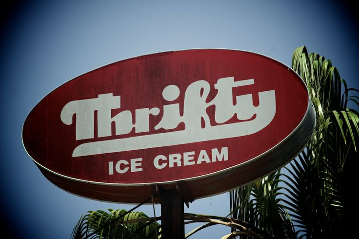 Thrifty Ice Cream - Best ice cream ever! CMK is my favorite!
