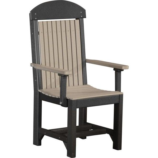 Amish LuxCraft Poly Wood Captain Chair (20.800 RUB) ❤ Liked On Polyvore  Featuring Home