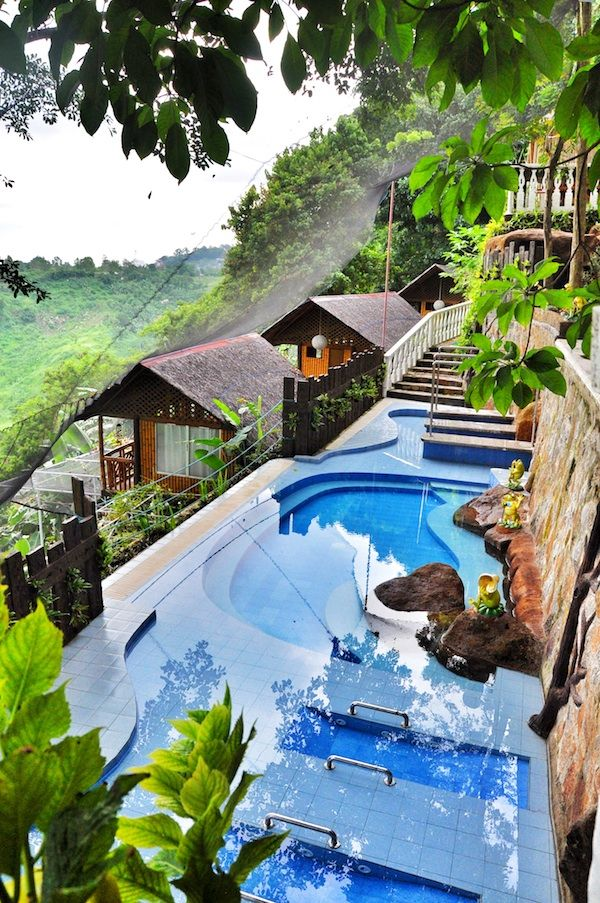 Luljetta's Hanging gardens and spa, Philippines | Luxury Travel | breathtaking | travel | wanderlust | hotel | pools | water | explore | relax | vacation | tourist | bucket list | Just Go | Schomp BMW