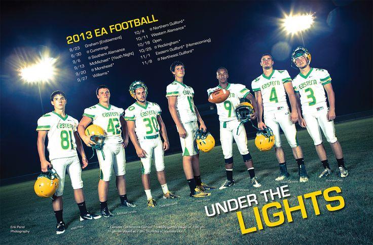High school football poster. 2013