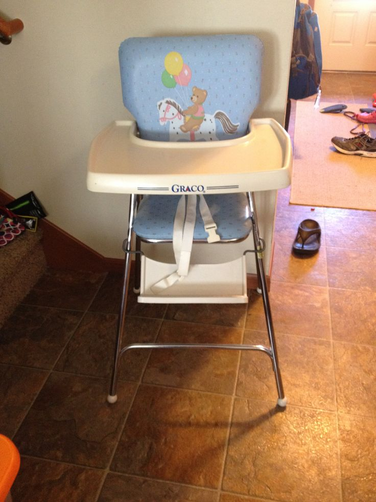 Graco High Chair Late 80 S Early 90 S Childhood Memories