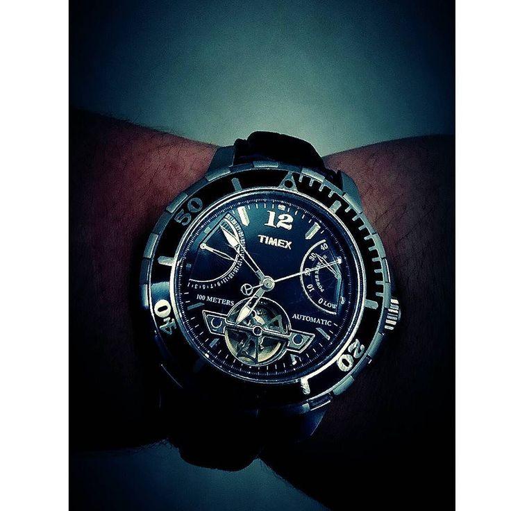 Special edition tourbillon timex.  #tourbillon #watch #watchfam #watches #watchporn #watchlover #wristwatch #reloj #timex #special #edition #specialedition #instalike #instawatch #instaphoto #instacool #instagood #picoftheday #time #watchlove #watchoftheday by danielpescina
