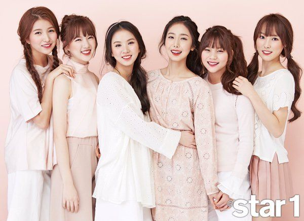 G-Friend are all smiles in '@star1' photo shoot for 'Etude' makeup   allkpop.com