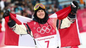 In the highly anticipated men's big air final, Sebastien Toutant didn't leave much room for Olympic drama, he had enough...