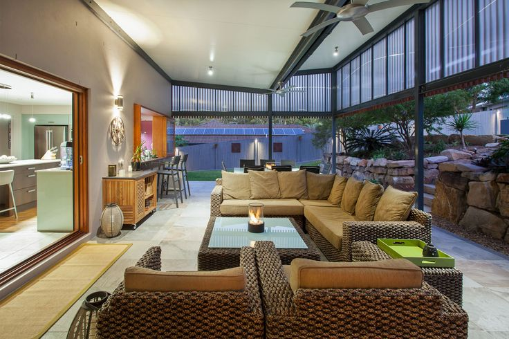 Outdoor Entertaining Area & Pool | Cashmere Renovation | dion seminara architecture