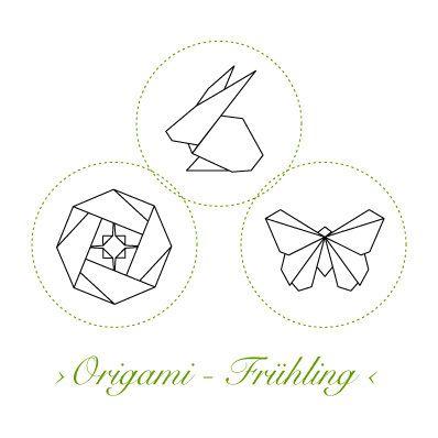 Korkstempel ›Origami – Frühling‹ - S.W.W.S.W.