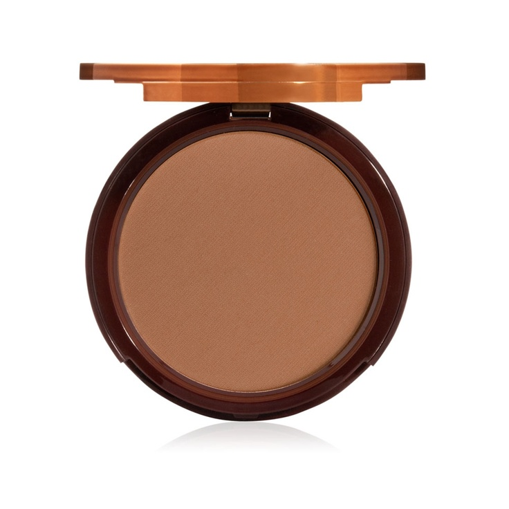 @Too Faced Cosmetics Bronzer, Chocolate Soleil Matte Bronzing Powder. Recently bought this and it smells and even tastes like chocolate. That's right I  accidentally tasted it.