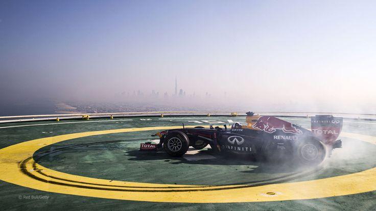 Red Bull Racing Burj Al Arab