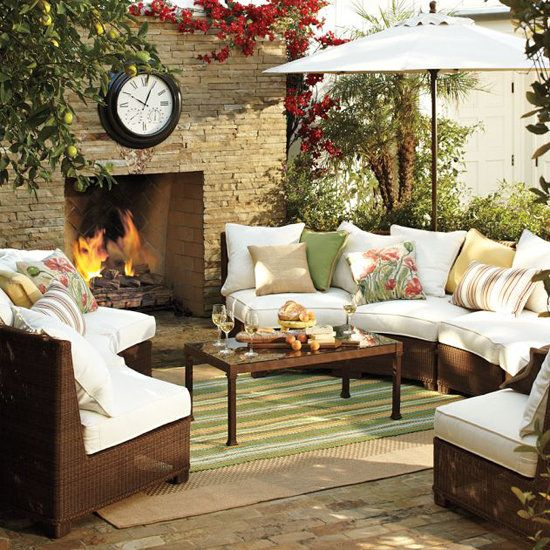 Patio Decorating Tips that are easy and take it from drab to fab.