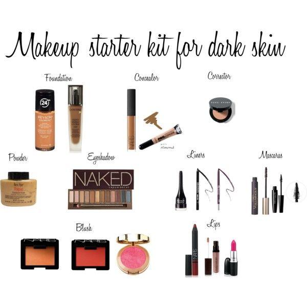 Makeup starter kit for dark skin