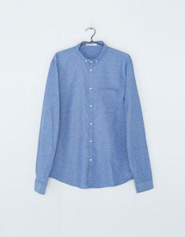 Bershka Italia -Camicia tipo Oxford