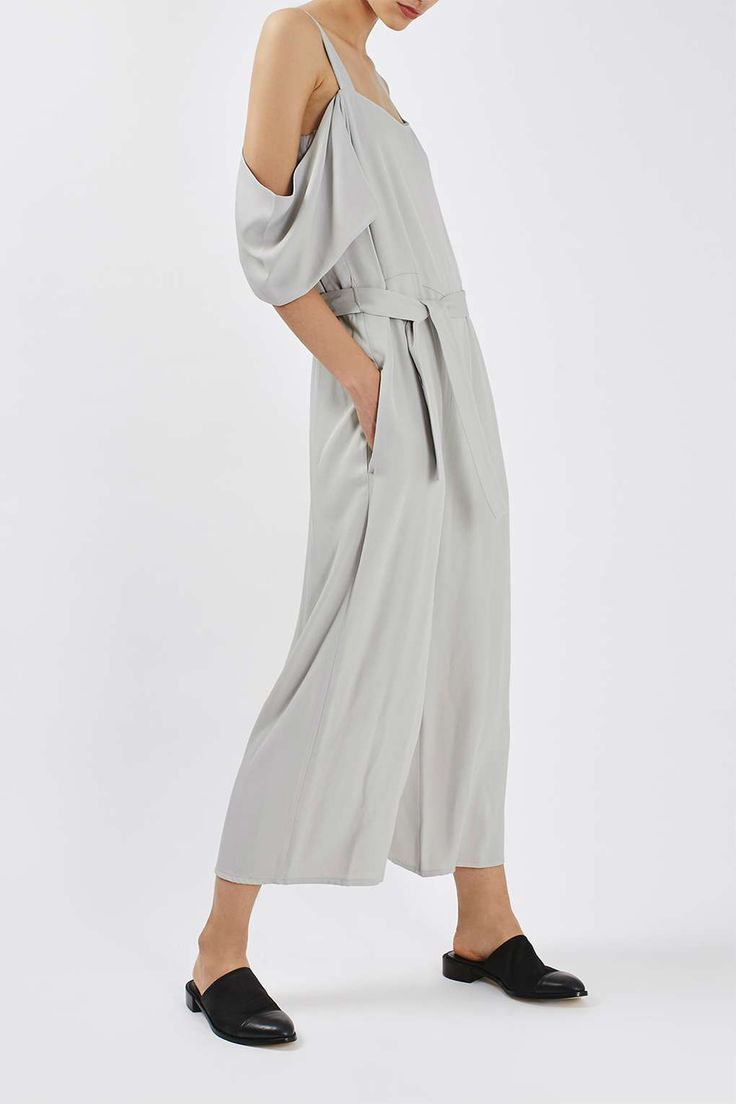 Off the Shoulder Jumpsuit by Boutique - Boutique - Clothing - Topshop Europe