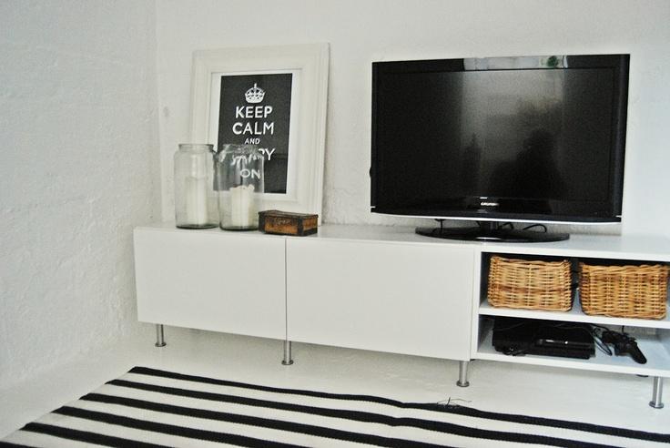 diy tv bench painted basement walls no drywall!