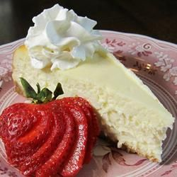 Perfect Cheesecake Everytime Recipe - Allrecipes.com - One of the best ...