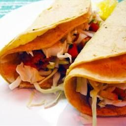 Fiery Fish Tacos with Crunchy Corn Salsa on BigOven: Spicy grilled ...