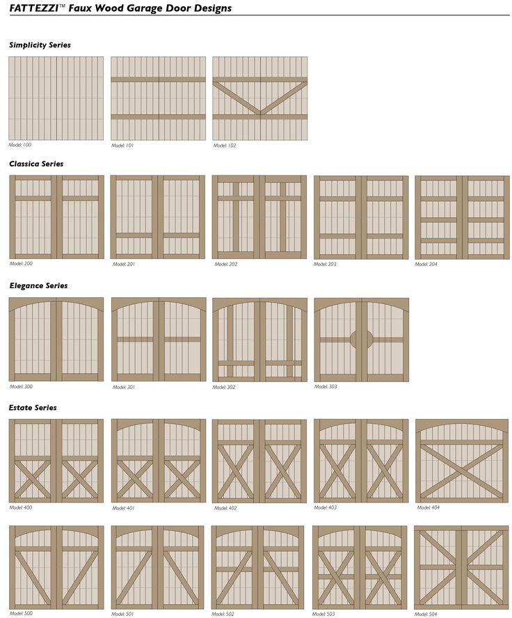 86 Best Images About Faux Wood Garage Doors On Pinterest