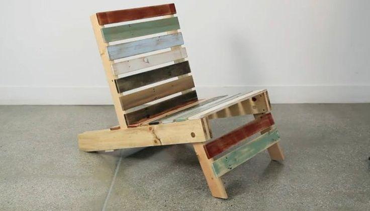 palets | sofa con palets | Hacer bricolaje es facilisimo.com